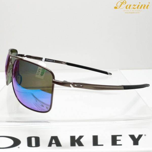 Óculos de Sol Oakley Gauge 8 L Matte Gunmetal Prizm Sapphire Polarized
