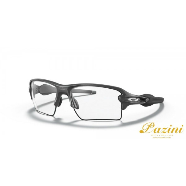 Óculos de Sol Oakley Flak 2.0 XL Steel Clear to Balck Iridium Photochromic