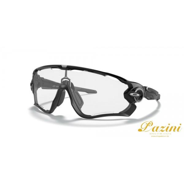 Óculos de Sol Oakley Jawbreaker™ Polished Black Clear to Black Iridium Photochromic