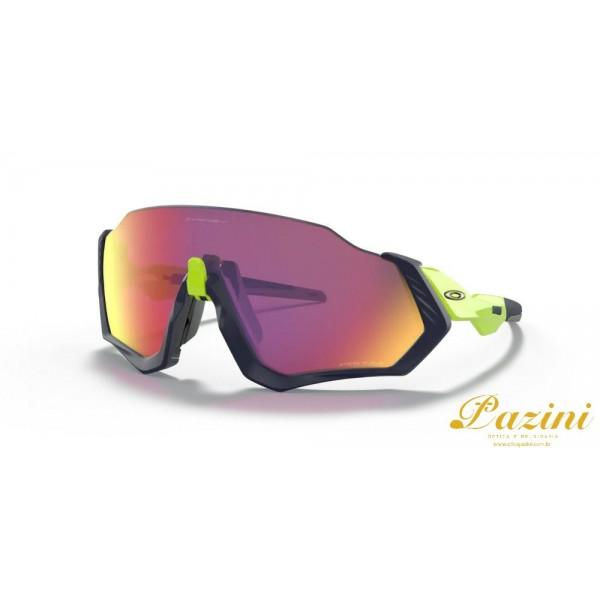 Óculos de Sol Oakley Flight Jacket™ Matte Navy Prizm Road