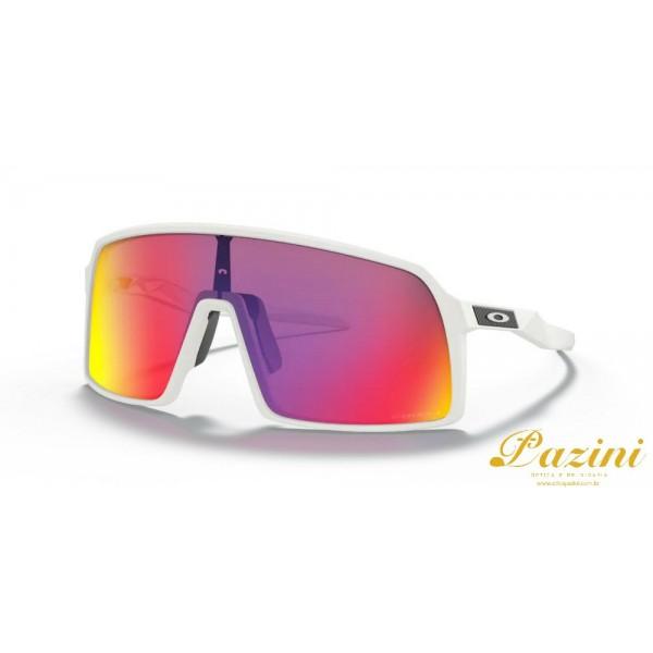 Óculos de Sol Oakley Sutro Matte White Prizm Road