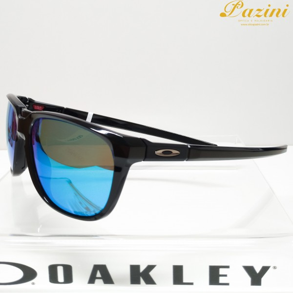 Óculos de Sol Oakley Anorak Matte Black Prizm Sapphire Polarized