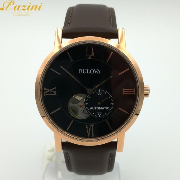 Relógio BULOVA American Clipper Automático 97A155