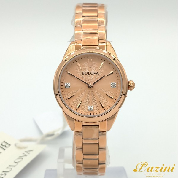 Relógio BULOVA Sutton Diamond 97P151