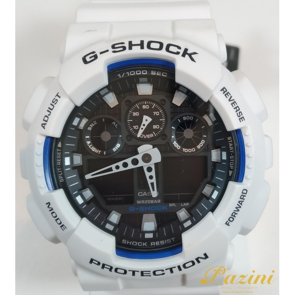 RELÓGIO CASIO G-SHOCK MODELO: GA-100B-7ADR