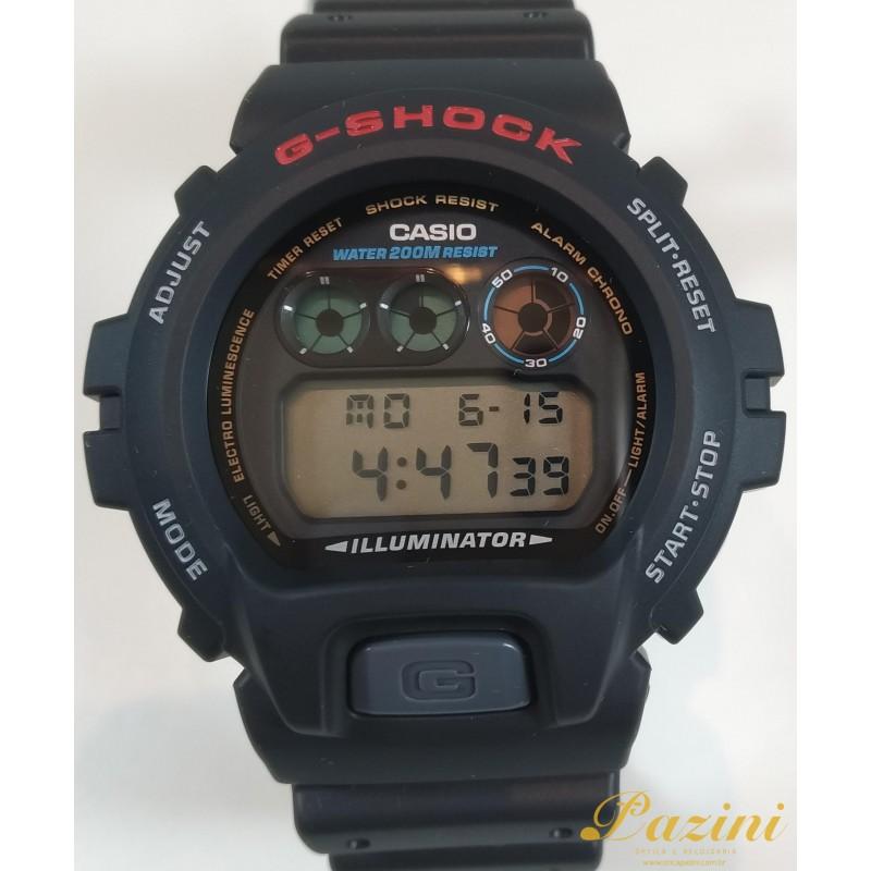 RELÓGIO CASIO G-SHOCK MODELO: DW-6900-1VDR