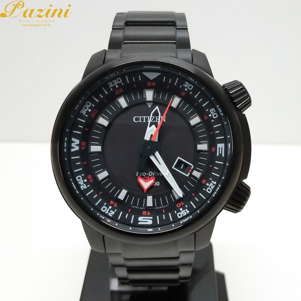 Relógio Citizen eco-drive GMT Modelo: tz30759p