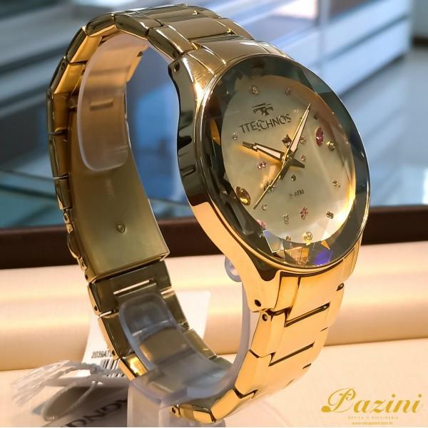 Relógio Technos Elegance Crystal 2039ATDTM/4X